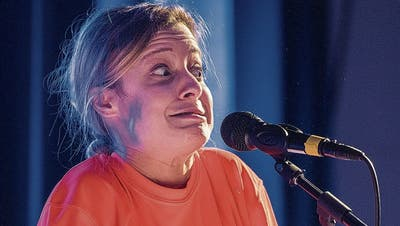 Lara Stoll bei ihrem Auftritt im Amriswiler Kulturforum. (Bild: Reto Martin (Amriswil, 23. Oktober 2020))