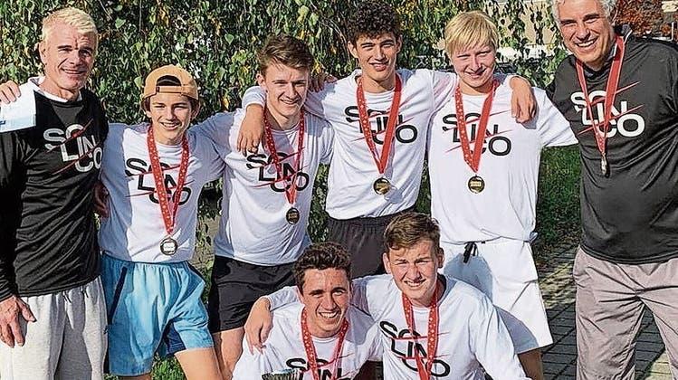 Schweizer Meisterschaften im Tennis: Die Lido-Junioren räumen ab