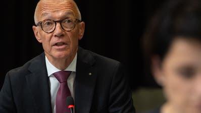 Der St. Galler Stadtpräsident Thomas Scheitlin präsentierte sein letztes Budget. (Benjamin Manser (15. September 2020))