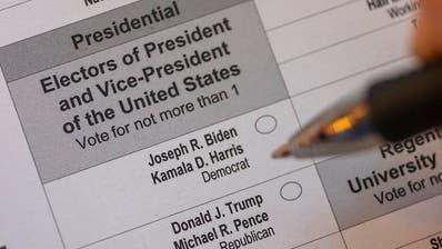 US-Wahl: Schon jetzt halb so viele Wähler wie 2016