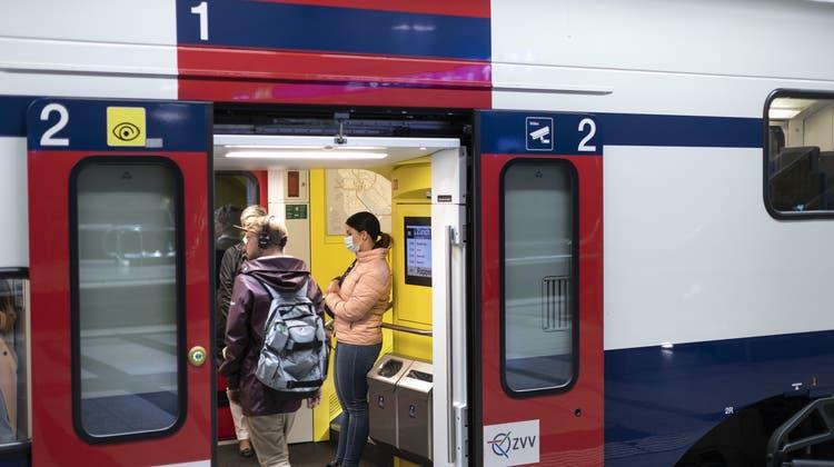 Der Personenverkehr auf den Schienen dürfte sich wegen der Empfehlung zu Homeofficelangsamer erholen. (Keystone)