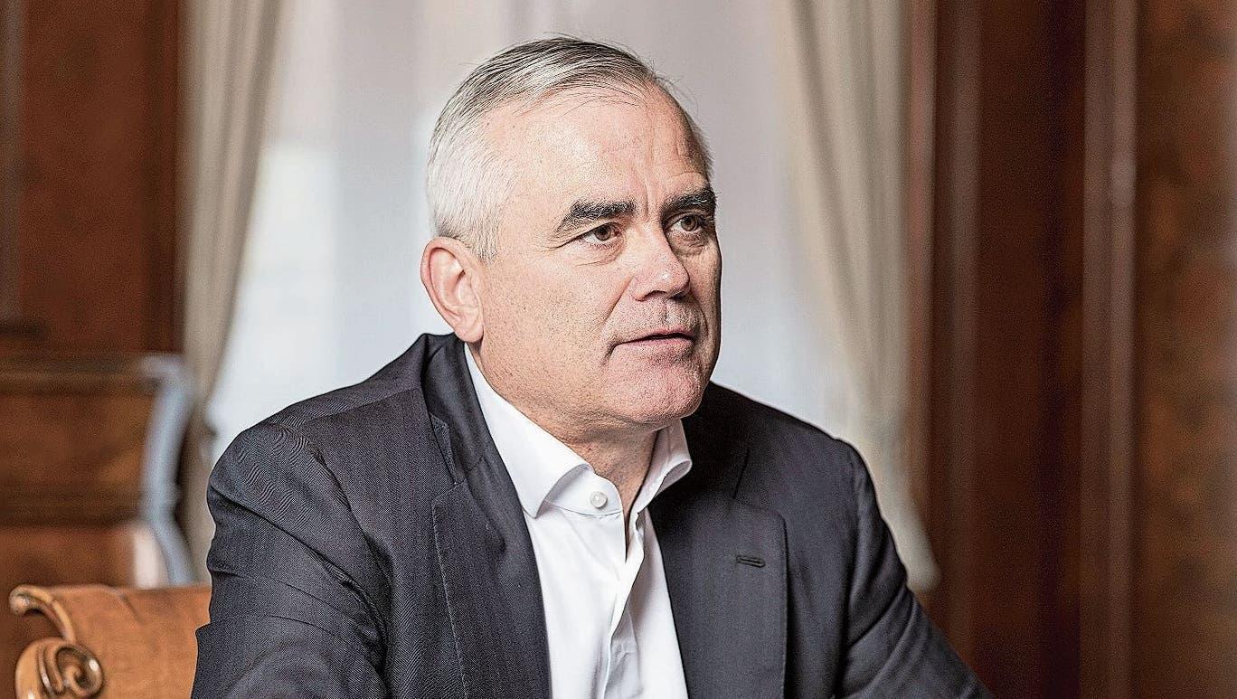 Credit-Suisse-CEO Thomas Gottstein. (Bild: Severin Bigler (Zürich, 9. September 2020))