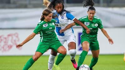 Die Frauen des FC St.Gallen-Staad dürfen weiterspielen. (Eddy Risch / KEYSTONE)