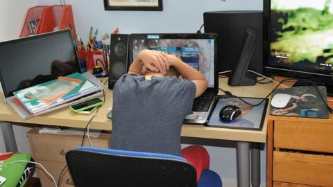 Einsamkeit als grösstes Problem für Jugendliche während der Coronakrise. (PD)