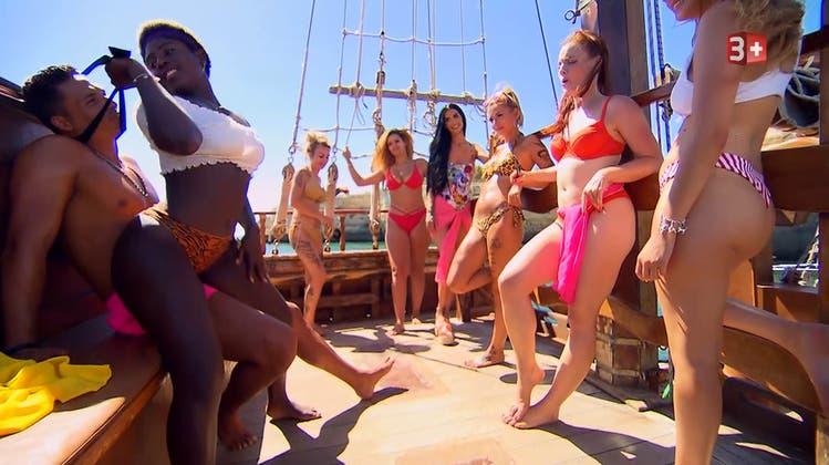 «Twerk-Einlage» auf dem Piratenschiff, «Kotzparty» und ein Überraschungsgast in der Villa: Das war die 3. Bachelor-Folge