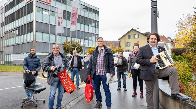 """Die Redaktion des """"Oltner Tagblatts"""" und des """"Stadtanzeigers"""" zieht in ein neues Büro in der Innenstadt"""