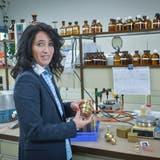 Caroline Studer ist am Gewinn des Unternehmerpreises «Entrepreneur Of The Year» vorbeigeschrammt. (Bild: Ralph Ribi)