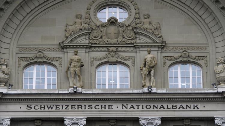 Die Schweizerische Nationalbank in Bern. (Archivbild: Anthony Anex/ Keystone)