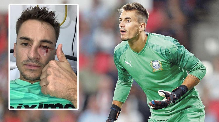 Der Aargauer Goalie Joël Mall ist auf Zypern in der Form seines Lebens – jetzt zwingt ihn ein schwerer Unfall zum Zuschauen