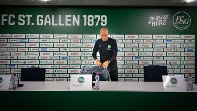 Im Ticker zum Nachlesen: So will der FC St.Gallen gegen Basel spielen – Hüppi überwältigt von Fan-Solidarität