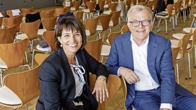 Doris Leuthard wurde von Coop-Präsident Hansueli Loosli in den Verwaltungsrat geholt. Sie wird nun Vizepräsidentin. (HO)