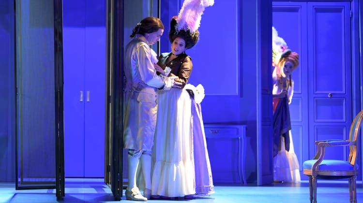 Flotte Handlung, tolle Töne: Paul Burkhards Oper«Casanova in der Schweiz». (Suzanne Schwiertz / TOBS)