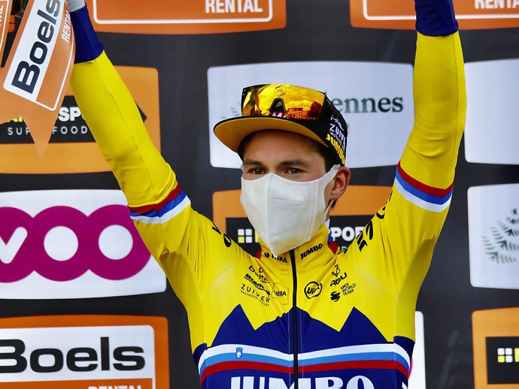 Primoz Roglic ist der erste Slowene, der eines der fünf Monumente im Radsport für sich entscheiden konnte