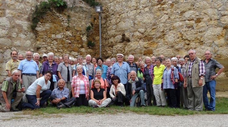 Die Dietiker Senioren eroberten die Burgruine Landskron im Oberelsass