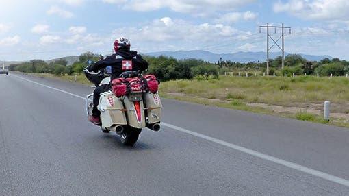 Weltrekord: 24'741 Kilometer in 16 Tagen – Auf dem Motorrad um die Welt
