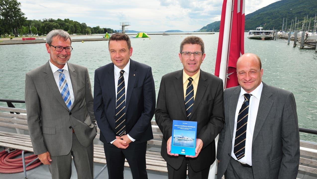 Bielersee Schiffahrt macht Gewinn trotz viel Hochwasser