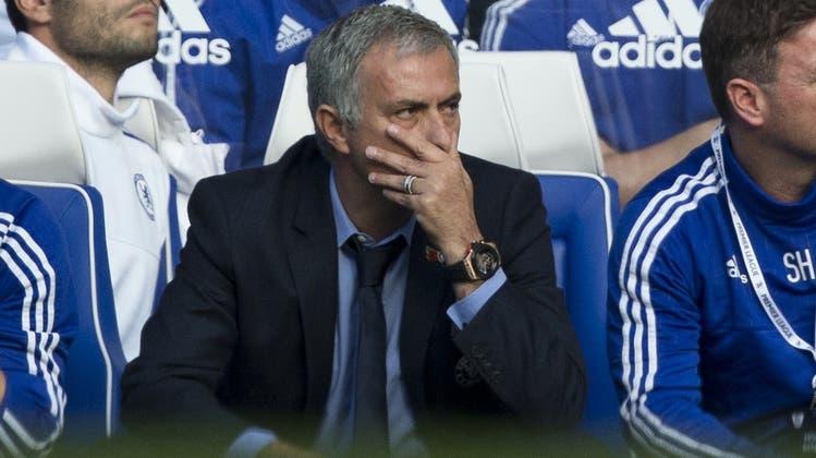 Londons wilder Westen: Mourinho verliert Übersicht im Chelsea-Saloon
