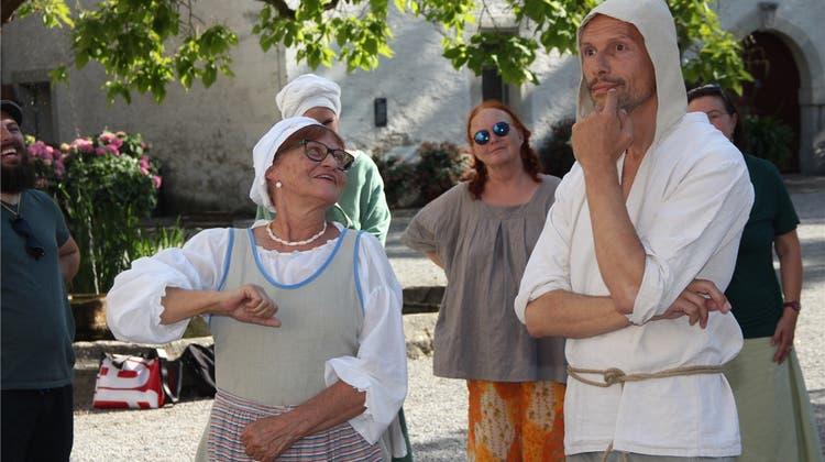 Die «Lenzburg» im Festfieber: Der Direktor freut sich auf den Saustall