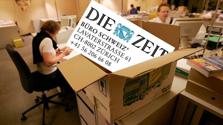 Schweizer Büro der Wochenzeitung «Die Zeit» verlässt Baden