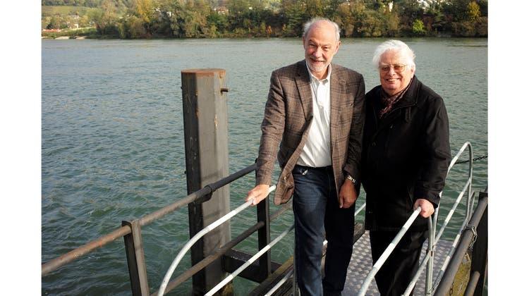 Muttenz wünscht sich die alte Rheinfähre zurück