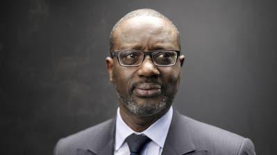 Tidjane Thiam leitete die Credit Suisse von 2015 bis 2020. (Simon Dawson/Bloomberg)