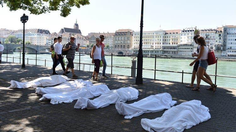 «Just one Minute»: Mahnmal für die Toten im Mittelmeer