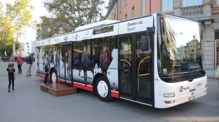 Mehr Bewegung: Der neue Sportbus soll die Bevölkerung animieren
