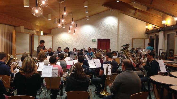 Aargauer Jugend Brass Band, Abschlusskonzert