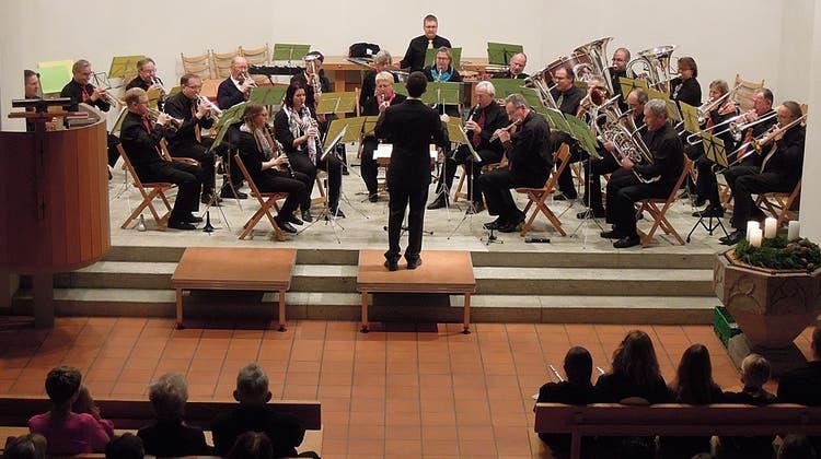 Geissberger Musiker sorgen für Festtagsstimmung