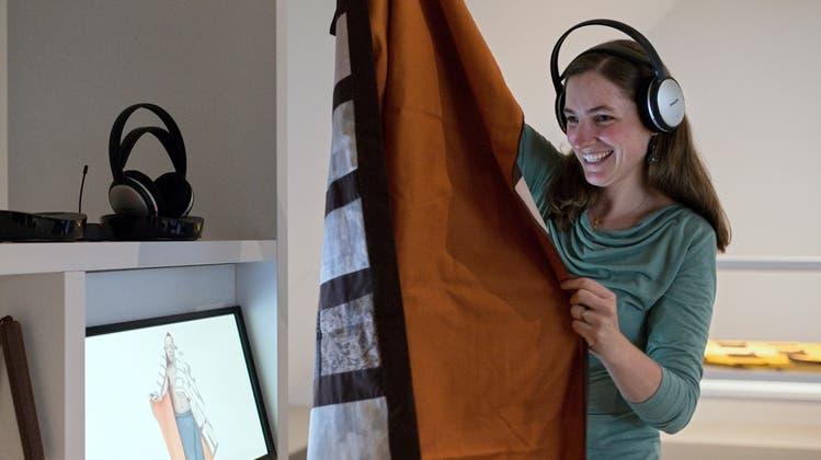 Blind durchs Flickwerk: Diese Ausstellung ist auch für Sehbehinderte geeignet