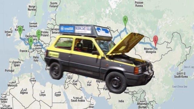 Drei Abenteurer fahren mit ihrem «Knutschmobil» in die Mongolei