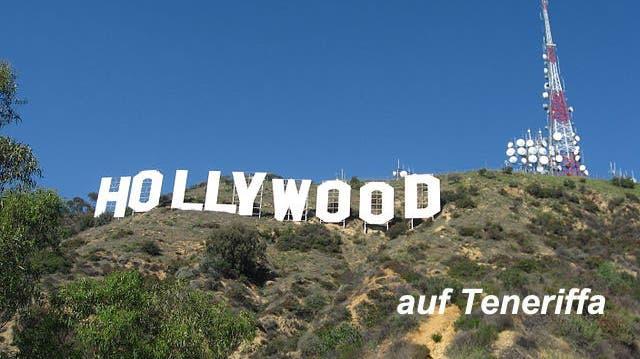 Hollywood kommt in die Hauptstadt Teneriffas Santa Cruz