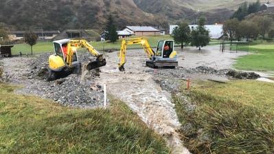 Realp/Oberwald:Unwetterschäden – Furka-Dampfbähnler suchen freiwillige Helfer