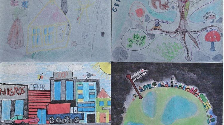 Kinderzeichnungswettbewerb ´´Mein Dorf Gerlafingen´´