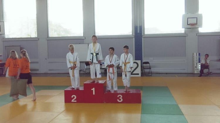5 mal Gold für Badner Judoka bei der AEM in Gipft-Oberfrick