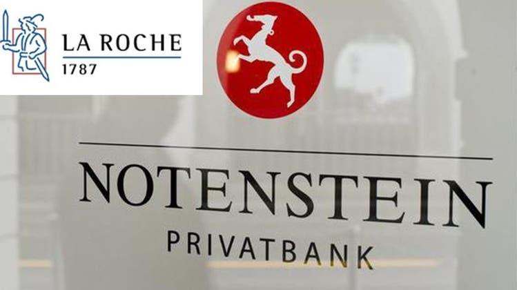 Älteste Basler Privatbank La Roche wird von Notenstein übernommen