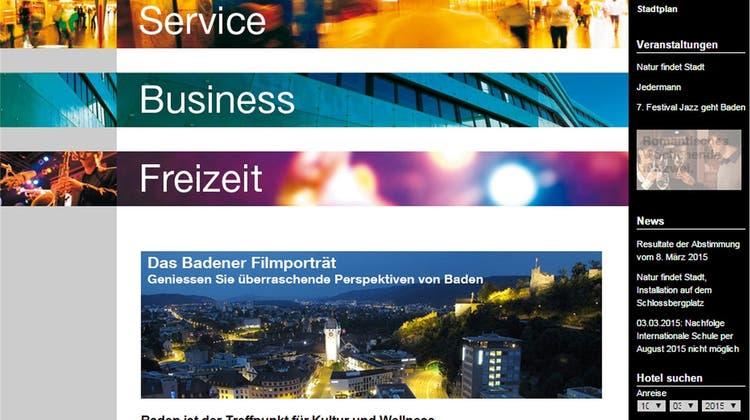 Neue Webseite: Baden prüft eine Klage gegen beauftragte Firma