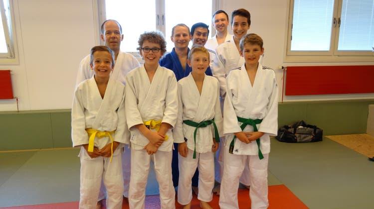 Neue Judo Hilfsleiter in Baden und Wettingen