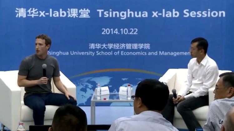 Wie Mark Zuckerberg den Chinesen die Sprache verschlug