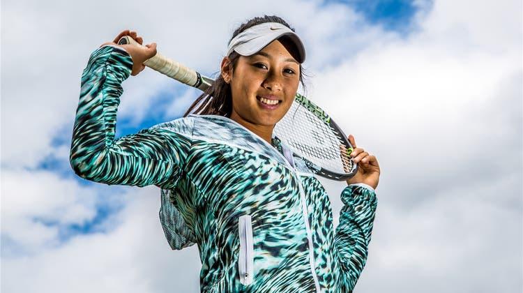Eine zukünftige French-Open-Siegerin in Oberentfelden?