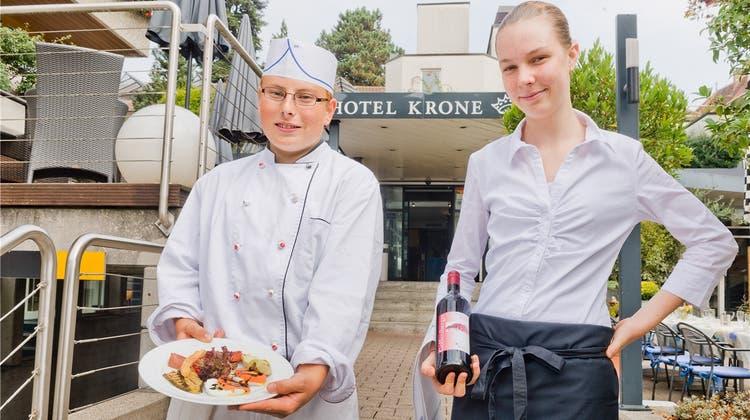 Erst Koch, später Hotel-Direktor: Schnupperlehrling hat Grosses vor