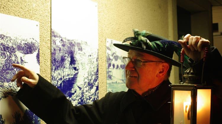 Stadtführer Adi Ruoss ist ein Meister der Improvisation