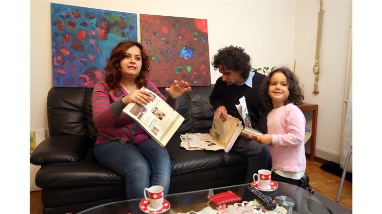 Aus Syrien geflüchteter Künstler: «Die Schweiz hat uns gerettet»