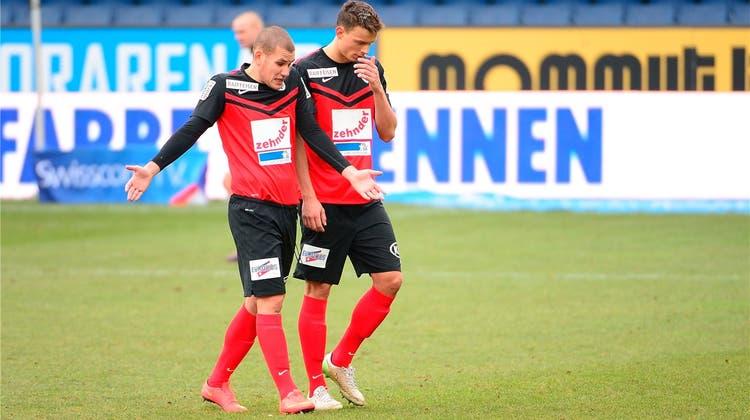 Das grosse Problem des FC Aarau: Es gibt im Kader keinen guten Stürmer