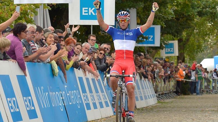 Französischer Triumph in tubulentem Rennen auf der Baldegg