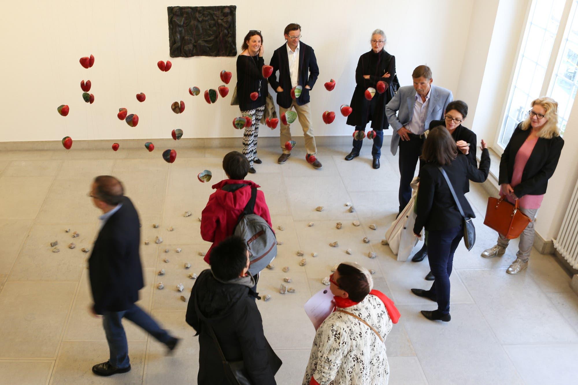 Ausstellung «In die Tiefe steigen» von Sara Rohner