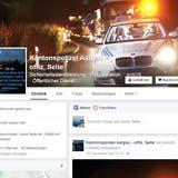 Der Kantonspolizei Aargau fehlt das Geld für einen «Facebook-Polizisten»