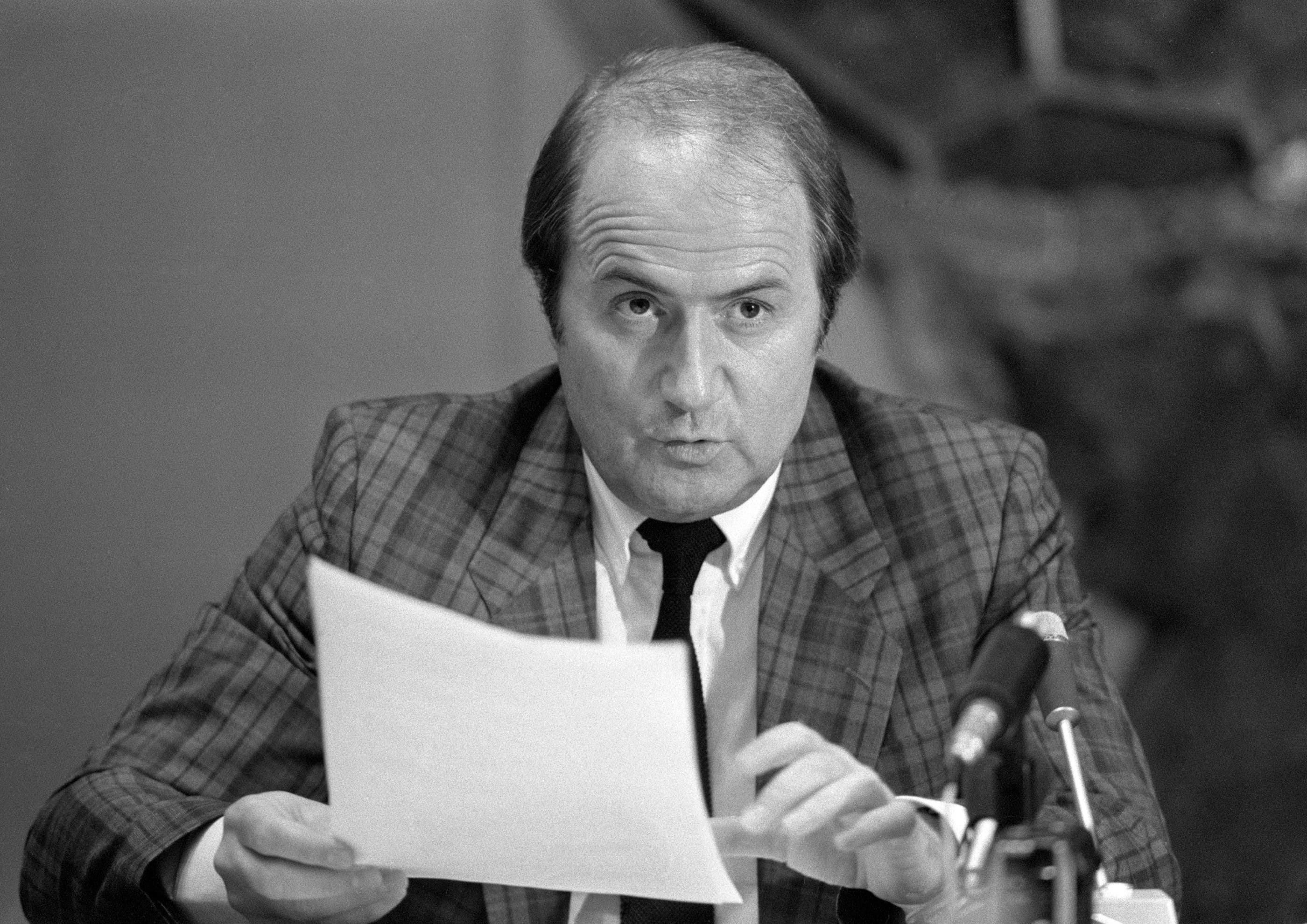 Sepp Blatter als Fifa-Generalsekretär 1985