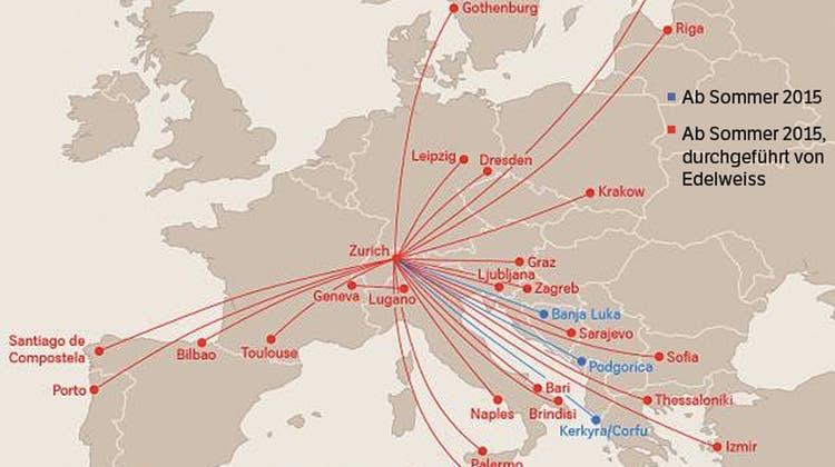 Die Swiss wird zur Balkan-Airline – Schweizer Migranten freuts