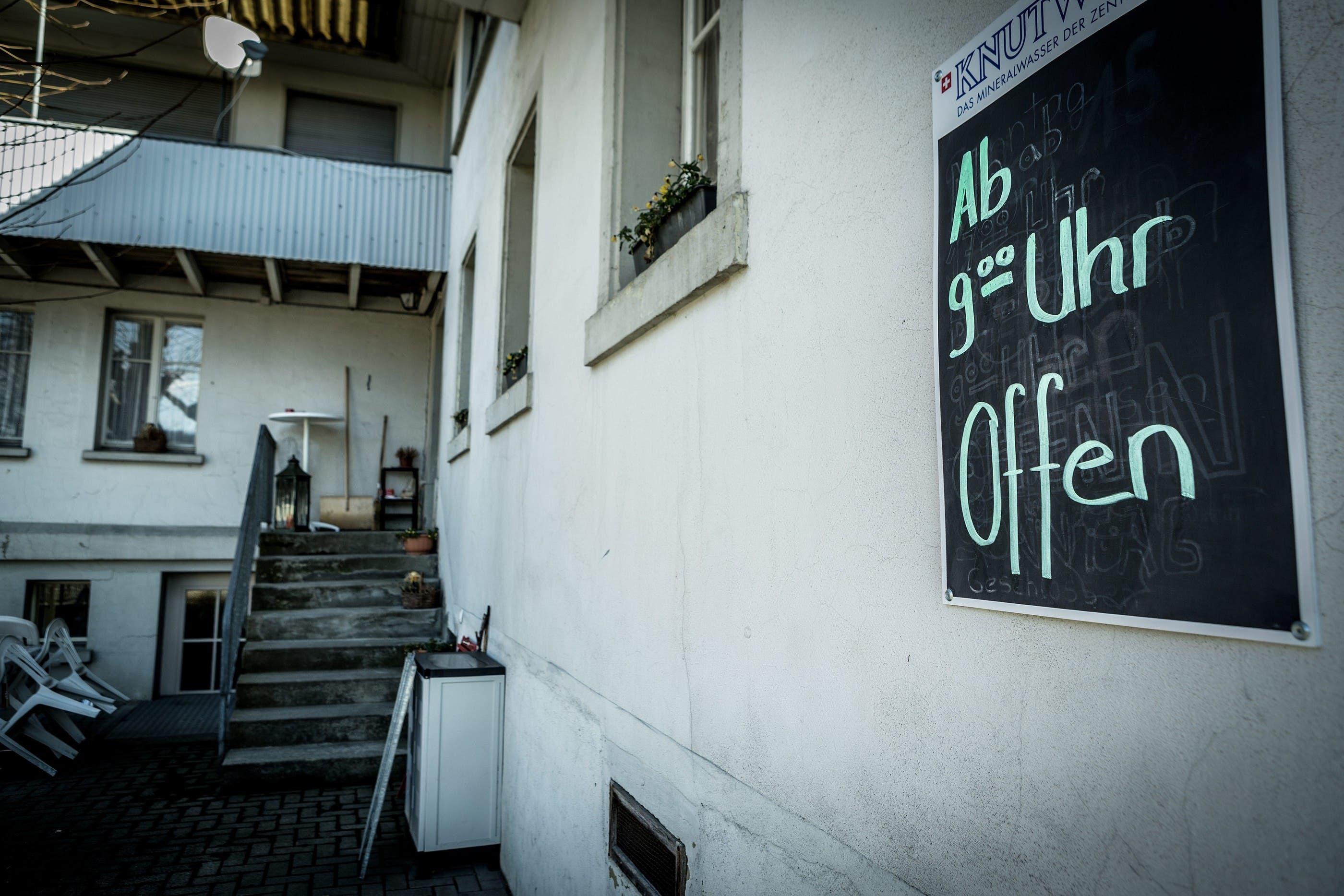 Das Restaurant bleibt nun vorerst geschlossen, sagt Besitzerin Martha Duss, die die «Eintracht» 40 Jahre lang geführt hat.